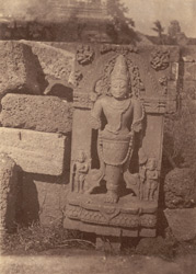 Statue of a one-legged Bhairava, Bhubaneshwar